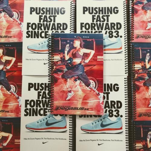 Nike Promotional Air Zoom Custom Journal