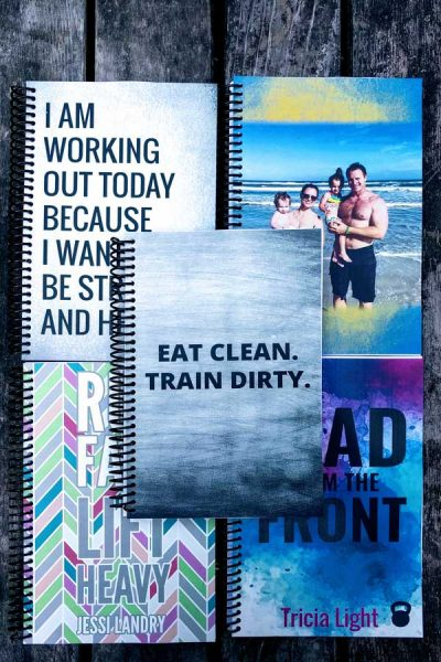 custom fitness journals lead to inspire your training