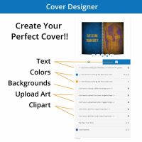 The Custom WOD journal cover designer allows you to create the perfect cover for your workout journal