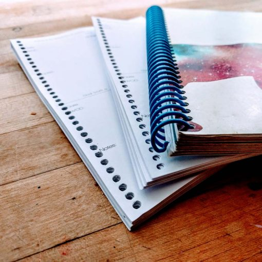 Fitness journal extra pages add on