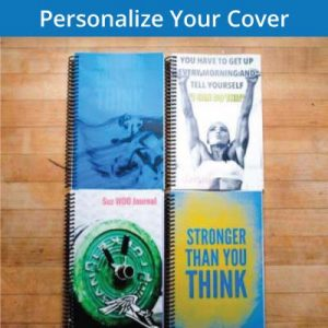 Create a personalized cover for your fitness journal