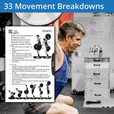 Image of a Overhead Squat Movement Breakdown in an athlete breakdown