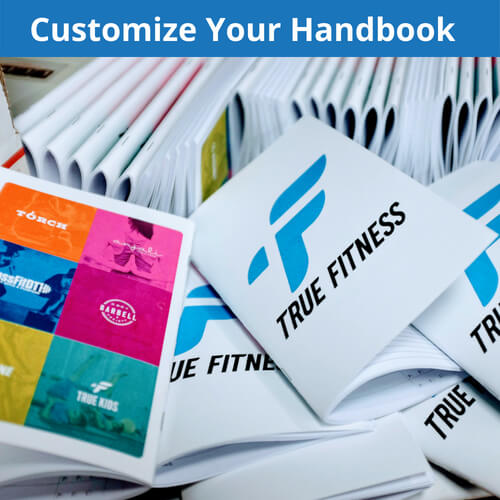 Customize the wod beginner handbook to include the information and have the cover that you want