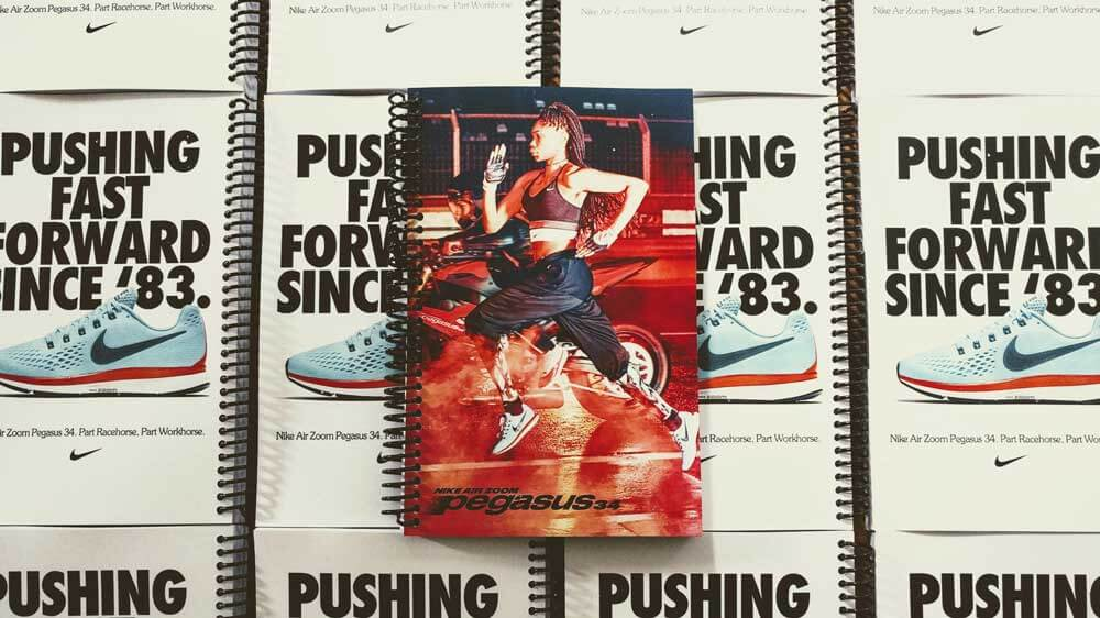 9cdc159c60 Running Journals Custom Made for the Nike Pegasus 34 launch ...