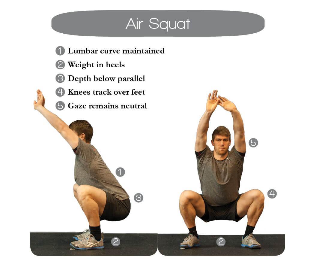 Air Squat - Journal Menu: The Perfect Workout Journal