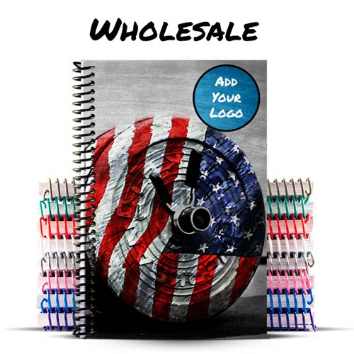 Create a custom wholesale journal or bulk notebook
