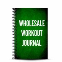 Wholesale workout journals can help a gym, CrossFit affiliate or sports team increase their brand awareness and athlete success. Coaches can tailor the branded notebooks to their needs, with prebuild layouts for CrossFit affiliates, track teams, weightlifting crews, bootcamps, and more.