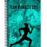 Running journal for team Mamaste