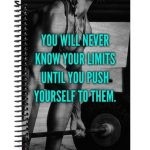 Workout journal will help you push your limits.
