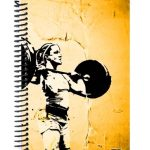 Girls who lift weightlifting journal cover