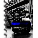 Thin-Blue-Line fitness journal