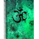 Yoga Symbol Journal Cover