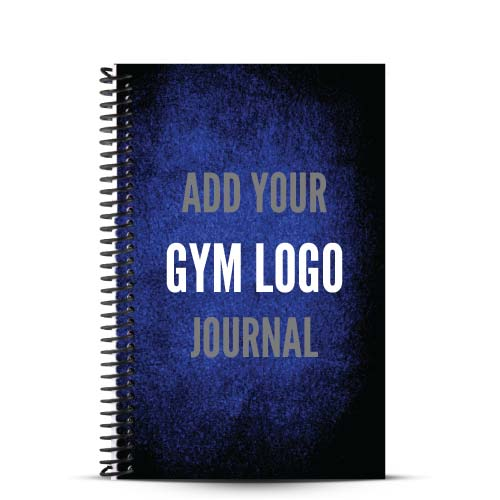 Add your gym logo to a journal and provide your clients with a customized Fitness Journal