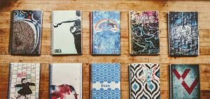 Get the perfect personalized journals with our custom journal cover designer