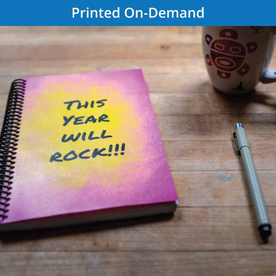 personalized notebook and build your journal