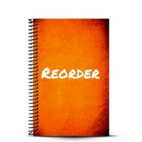 We make custom fitness journals that you can reorder with a quick click