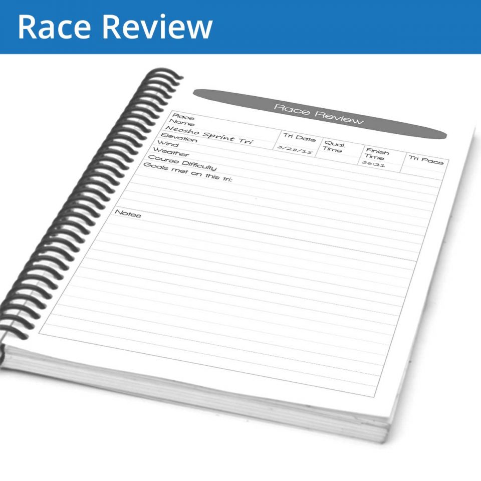 Our race review page allows you to accurately and honestly write up your race, letting you figure out what needs to happen for your training next time.