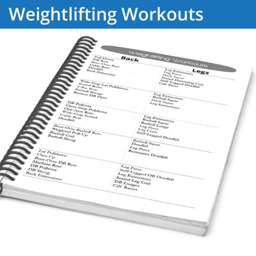 The Weightlifting Workouts Page is a set of pages with circuit ideas for different muscle groups. We've provided 5 circuits per muscle group which can be combined and interchanged for endless variety and muscle engagement.