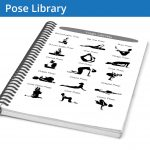 The Yoga Journal Pose Library gives you the positions of all the major poses. This is perfect if you're looking for ideas on what to try.