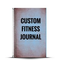 Create your custom fitness journal with our cover designer and finally create the cover you've always wanted