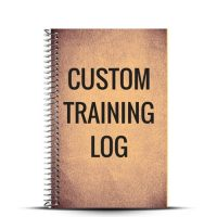 Create your custom training log with our cover designer and finally create the cover you've always wanted