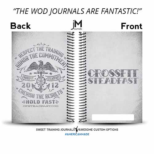 Brian created a set of custom wod journals to invest in his members fitness progress.