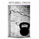 kettlebell cracks workout journal cover
