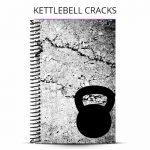 kettlebell cracks workout journal cover