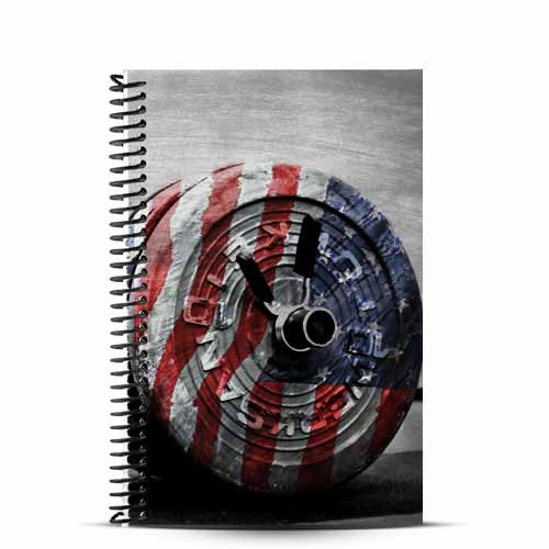 Judith's standard american barbell cover and wod journal
