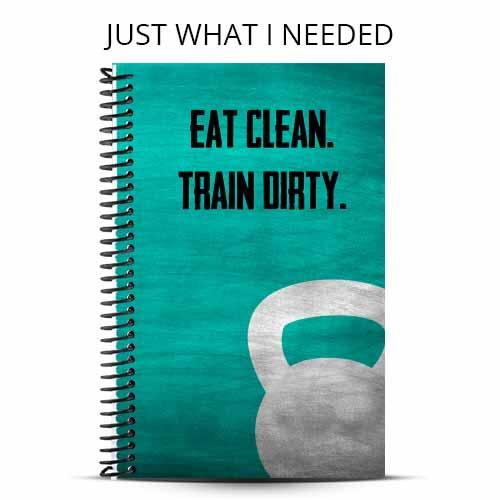Natasha's eat clean train dirty custom wod journal