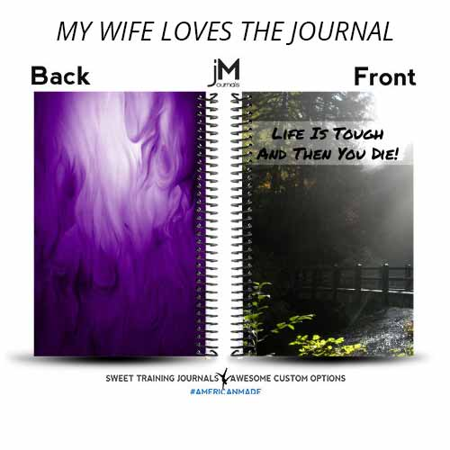 Nels created a custom wod journal for his wife to help her keep track of her workouts
