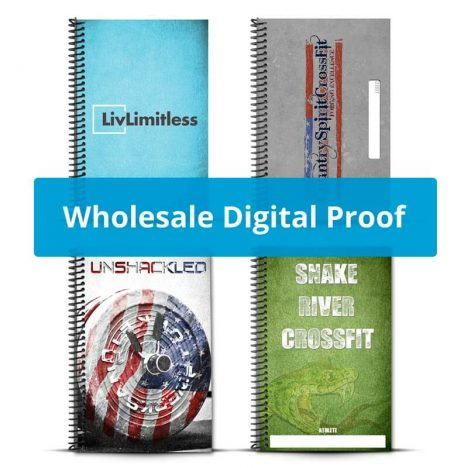 Create a digital proof of your wholesale journal to preview it before purchase