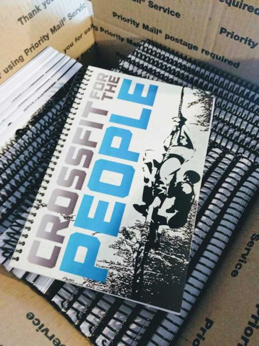 CrossFit for the People's journals all packaged up for their grand opening