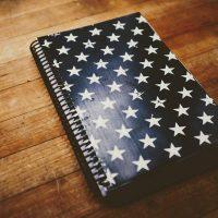 American Stars custom fitness journal for training