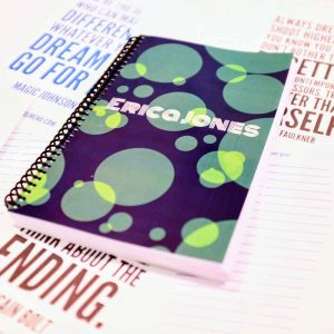 custom weightlifting journal erica