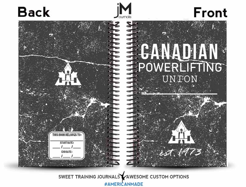 Canadian Powerlifting Union weightlifting journal preview