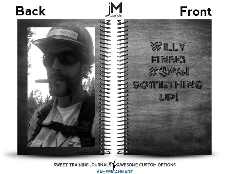 custom fitness journal