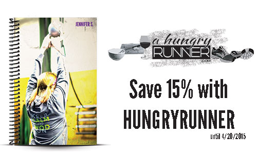 a hungry runner journal and coupon