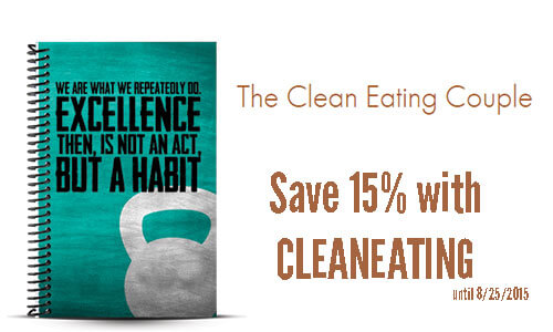 The Clean Eating Couple Training Journal Review and Coupon