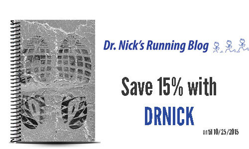dr nicks running blog custom running journal review and coupon