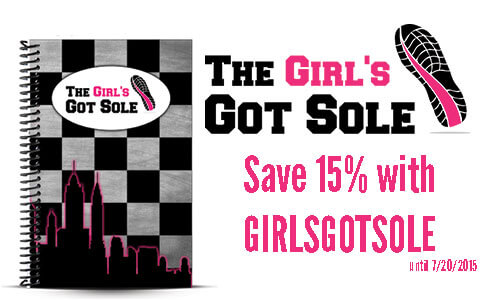The Girl's Got Sole Custom Workout Journal and Journal Coupon
