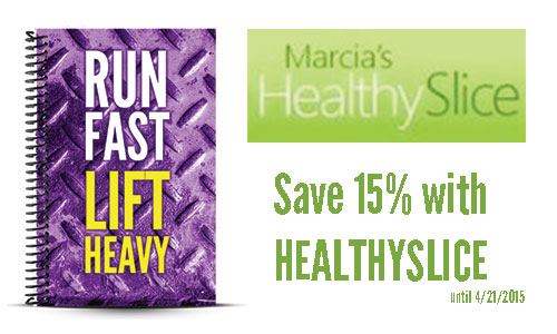 Marcia's Healthy Slice Running Journal Review and Coupon