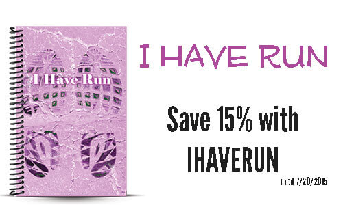 I have run custom running journal and coupon
