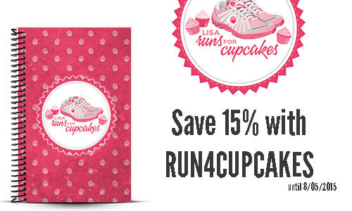 This Mama Runs for Cupcakes Custom Running Journal Review