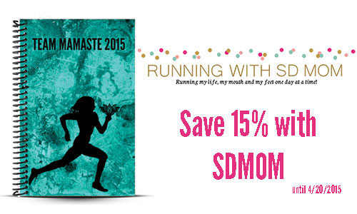 Running with SD Mom Custom Running Journal and Journal Review