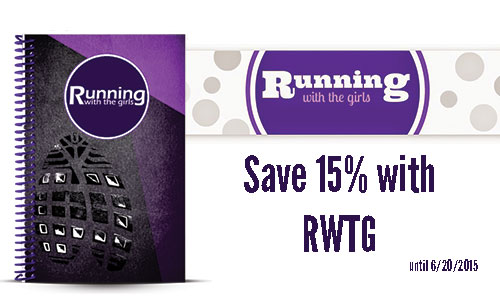Running with the Girls Running Journal Review and Journal Coupon