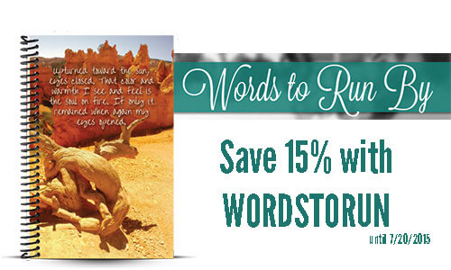 Words to Run By Running Journal Review and Coupon