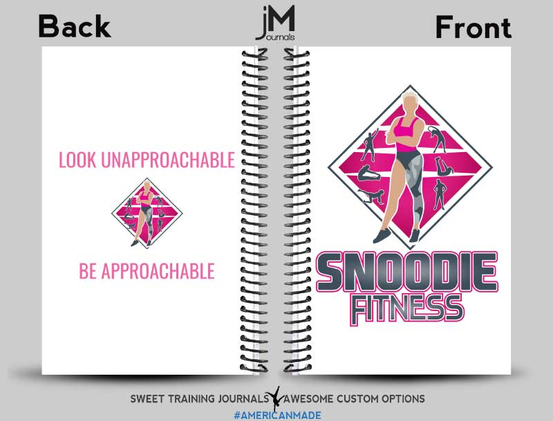 Snoodie Fitness and Connie's perfect fitness journals