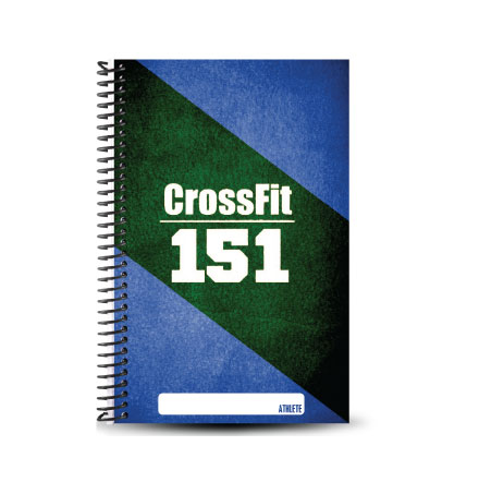 CrossFit 151 custom wod journal for crossfit