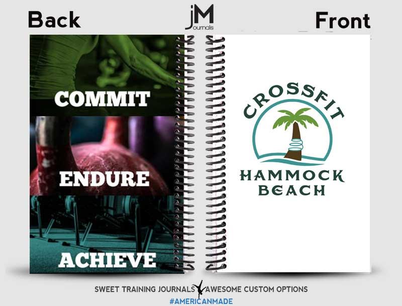 CrossFit Hammmock Beach custom wholesale workout journals